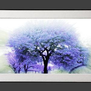 Blue Tree (10×20)