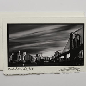 Manhattan Skyline (Card)