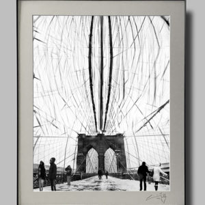 On Brooklyn Bridge (16×20)
