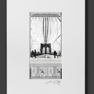 On Brooklyn Bridge (8×12)
