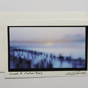Sunset at Chelsea Piers (Card)